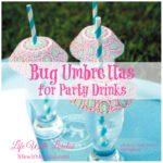 DIY – Bug Umbrellas For Party Drinks