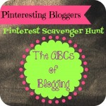 Pinteresting Bloggers Scavenger Hunt – Entry