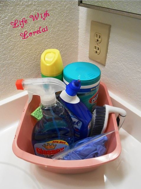 Bathroom Bliss - A Few Cleaning Tips | Life With Lorelai