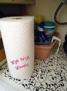 Under the Sink Hideaway - cleaning tips