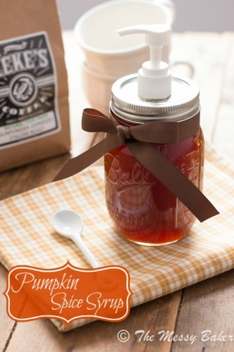 Pumpkin Spice Syrup - Improved Recipe - lifewithlorelai.com