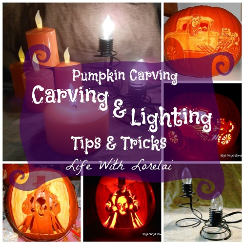 Pumpkin Carving - Carving and Lighting Tips and Tricks | Life With Lorelai