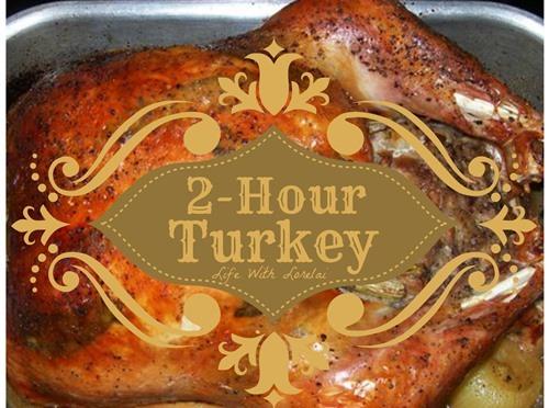 2-Hour Turkey for Thanksgiving – Printable Recipe