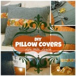 DIY – Pillow Covers