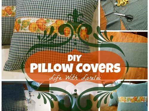 DIY – Pillow Covers