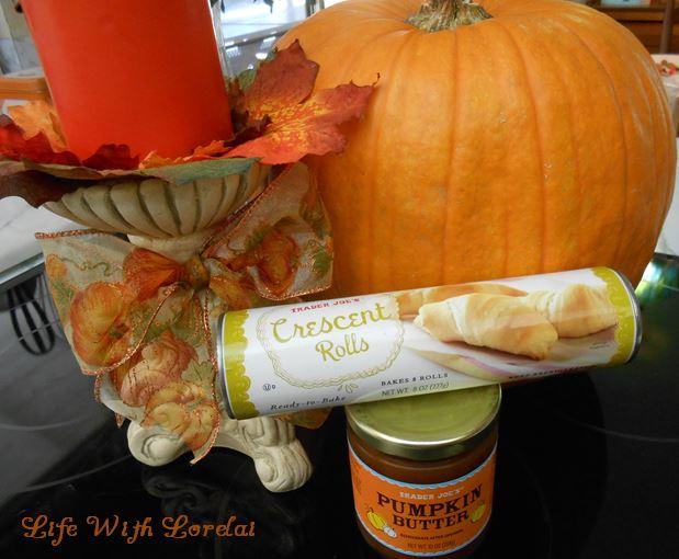 Pumpkin Butter Crescent Rolls Ingredients   Life With Lorelai