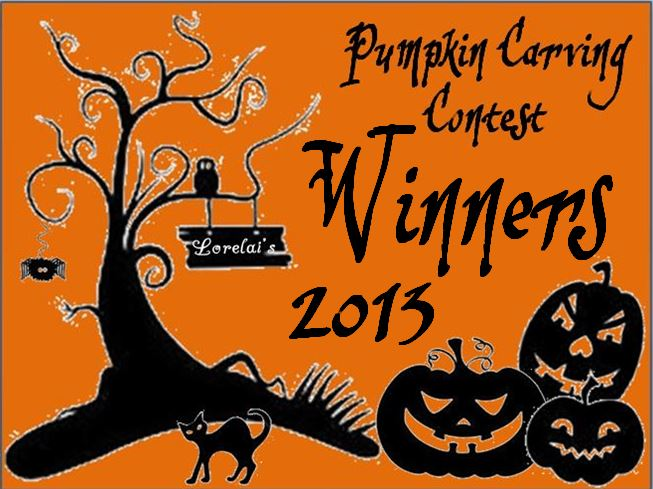 Pumpkin Contest Winners 2013 | Life With Lorelai