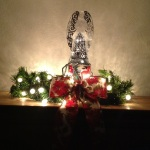 Filigree Angel with Lighted Garland - Life With Lorelai
