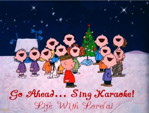 go ahead sing karaoke christmas life with lorelai