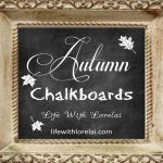Autumn Chalkboards