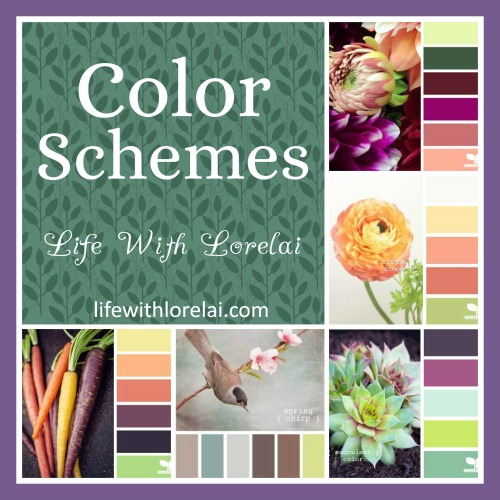 Color Schemes - Life With Lorelai