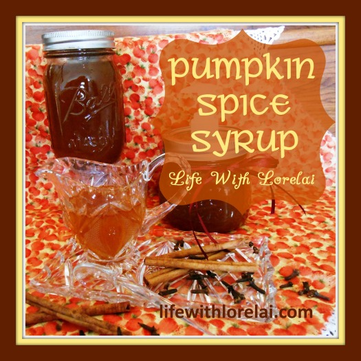 Pumpkin Spice Syrup Recipe - lifewithlorelai.com