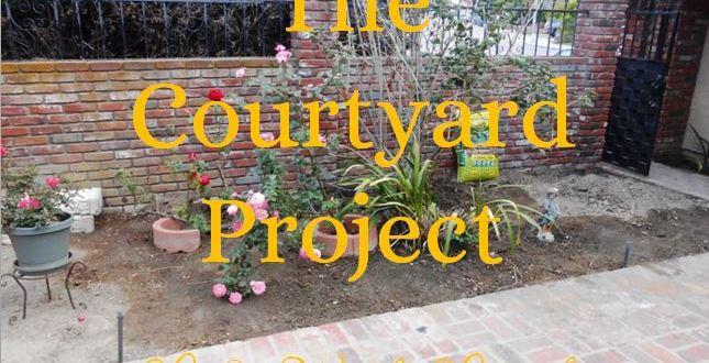 Courtyard Project – DIY Makeover Begins!