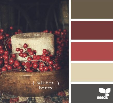 Winter Berry Color Schemes - Life With Lorelai
