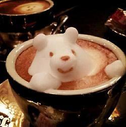 coffee art - bear - lifewithlorelai.com