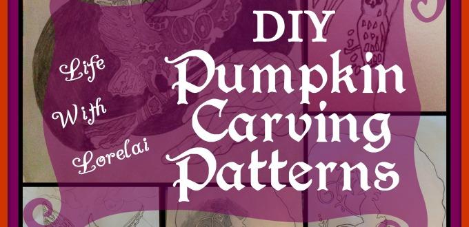 Pumpkin Carving Patterns DIY