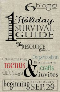 Holiday Survival Guide 2014 Link Party