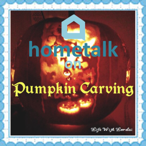 Hometalk on Pumpkin Carving - lifewithlorelai.com