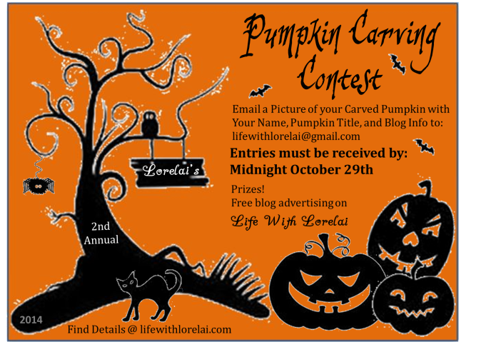 Lorelai's Pumpkin Carving Contest 2014 | Life With Lorelai