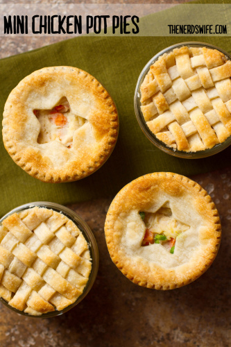 Mason Jar Chicken Pot Pies | Life With Lorelai - lifewithlorelai.com