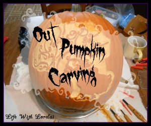 Out Pumpkin Carving - Life With Lorelai