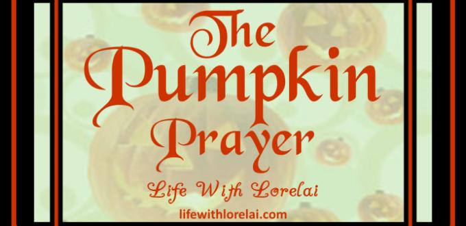 Pumpkin Prayer – Halloween Activity
