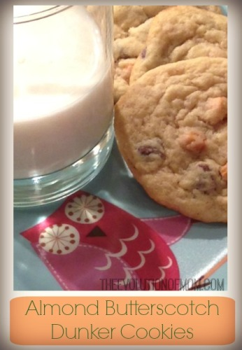 Almond Butterscotch Dunker Cookies