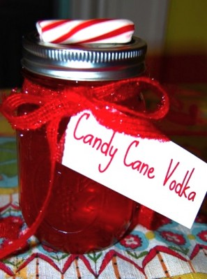 Candy Cane Vodka - 13 Homemade Gift Ideas - Food