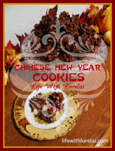 Chinese New Year Cookies or Haystacks - lifewithlorelai.com