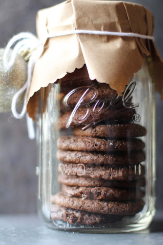 Cookies in a Jar - 13 Homemade Gift Ideas - Food