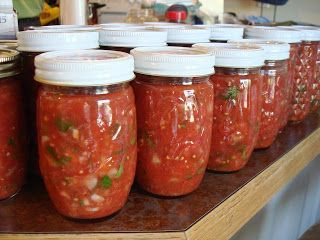 Homemade Salsa - 13 Homemade Gift Ideas - Food