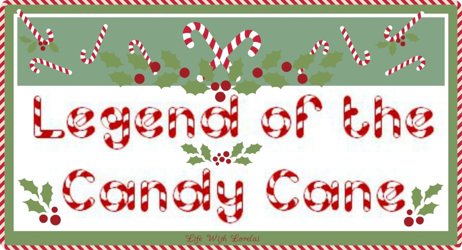 image regarding Printable Candy Cane named Sweet Cane Legend with Printables - Lifetime With Lorelai