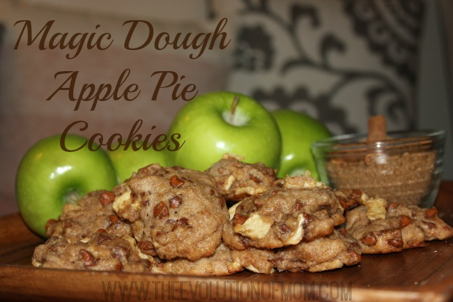 Magic Dough Apple Pie Cookies