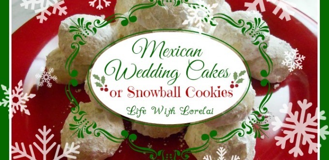 Mexican Wedding Cakes.Mexican Wedding Cakes Or Snowball Cookies
