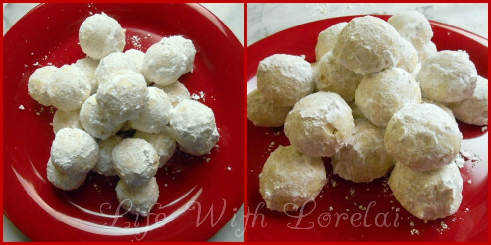 Mexican Wedding Cakes - Snowball Cookies - Life With Lorelai