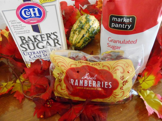 Sugared Cranberries Ingredients - Life With Lotelai