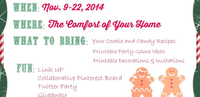 Coming Soon! The Ultimate Virtual Cookie & Goodies Party & Giveaway