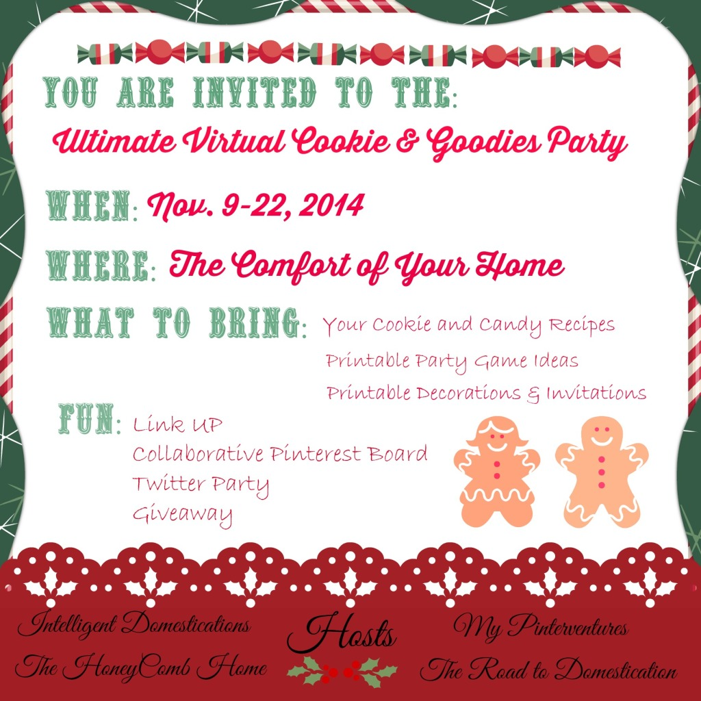 Ultimate Virtual Cookie & Goddies Party & Givaway Graphic