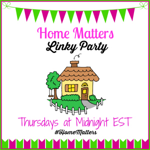 Home Matters Linky Party Logo