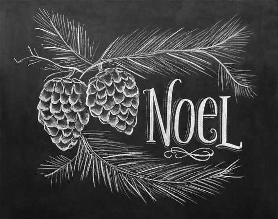 Noel Chalkboard