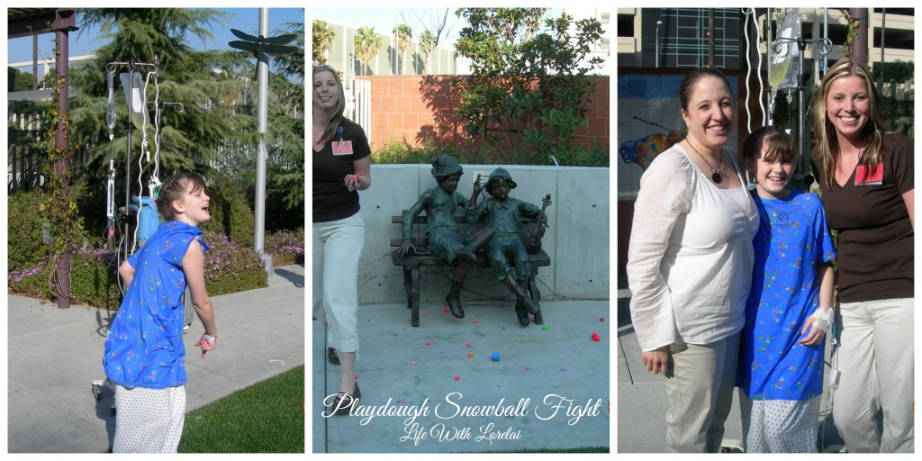 Playdough Snowball Fight 2 - Life With Lorelai