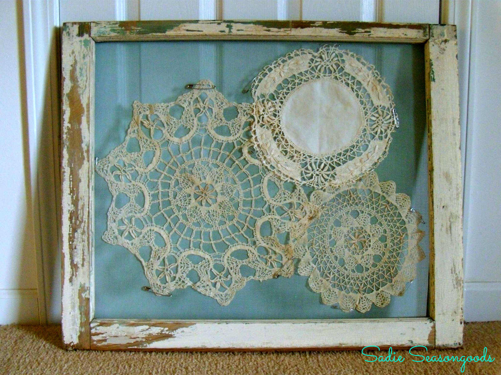 Master Bedroom Evolution and Doily Display - HMLP Feature
