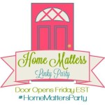 Home Matters Linky Party #25