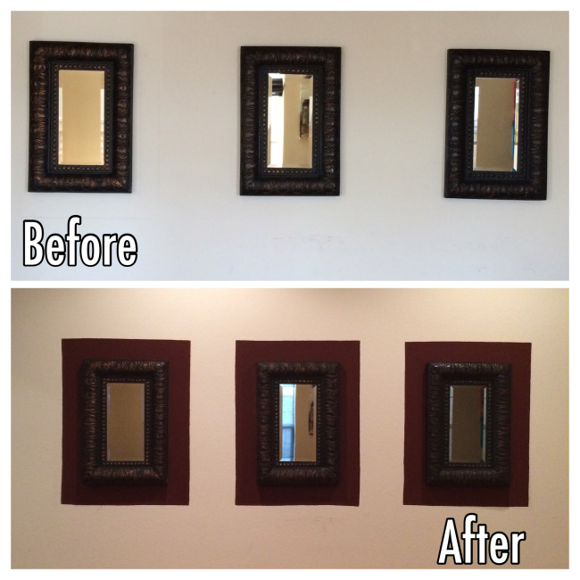Painted Wall Frames - HMLP Feature