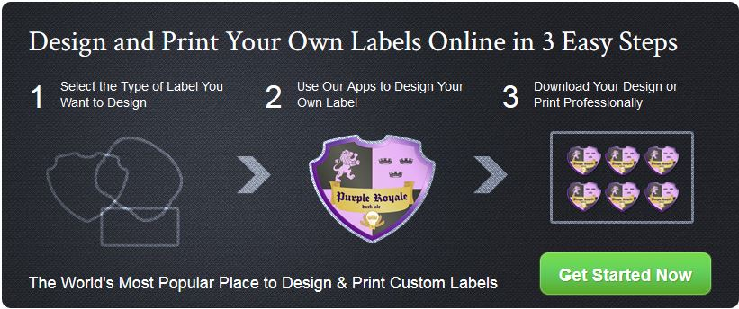 Labeley Design and Print in 3 Steps - labeley.com