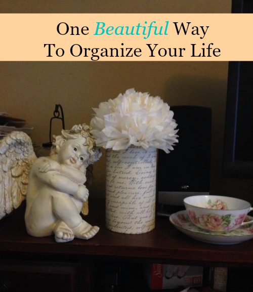 One Beautiful Way to Organize Your Life - HMLP Feature