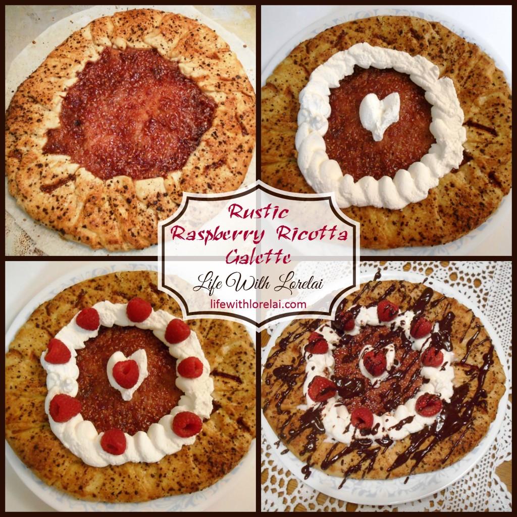 Raspberry Ricotta Galette - Life With Lorelai