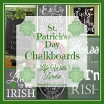 St. Patrick's Day Chalkboards