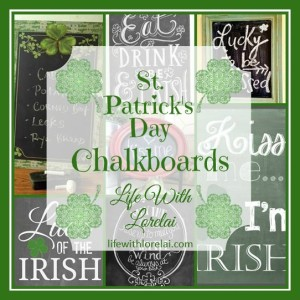 St Patricks Day Chalkboards - Life With Lorelai