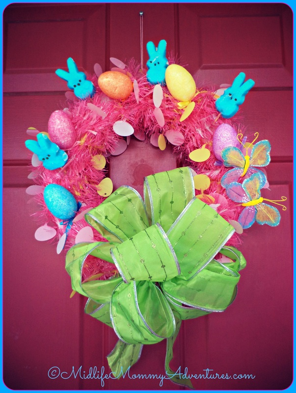 Adorable Peeps Easter Wreath - HMLP Features
